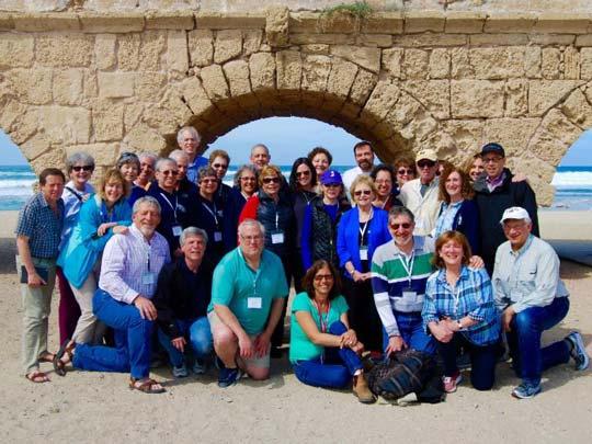 Beth Hillel Bnai Emunah group from Wilmette