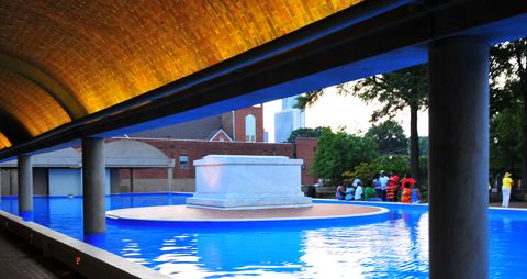 The MLK Memorial at the King Center by George Paul Puvvada