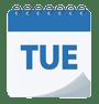 TUE calendar
