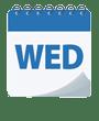 WED calendar